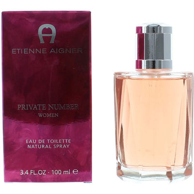Etienne Aigner Private Number Eau de Toilette Spray for Women 100 ml