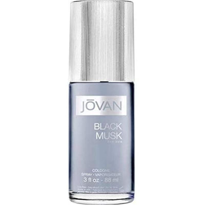Jovan Black Musk Eau De Cologne Spray for Men 90 ml