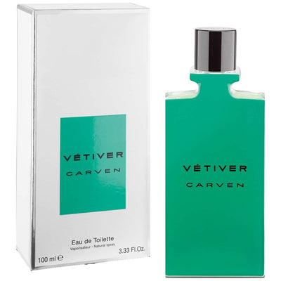 Carven Vetiver Eau de Toilette Spray for Men 100 ml