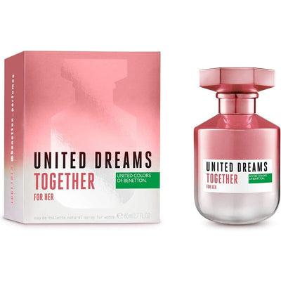 United Dream Together For Her Eau de Toilette Spray for Women 80 ml 2