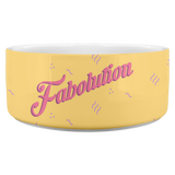 Fabolution Dog Bowl