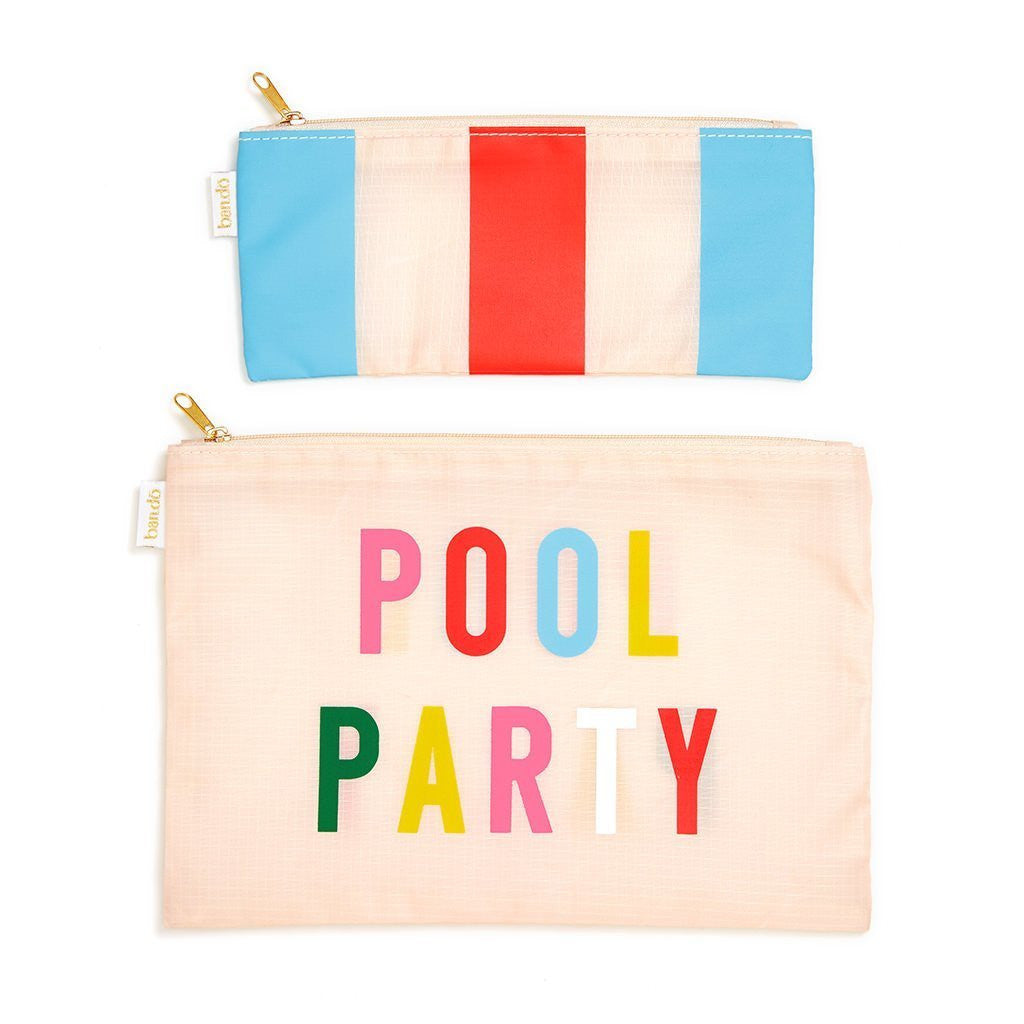 Pool Party Carryall Duo
