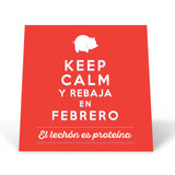 Keep Calm y Rebaja En Febrero