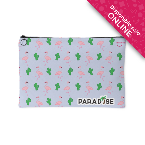 Flamingo and Cactus make up bags