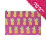 Pinapple Makeup bag