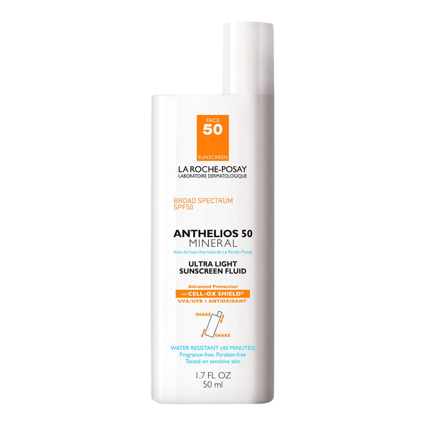 Anthelios Mineral Zinc Oxide Sunscreen for Face SPF 50