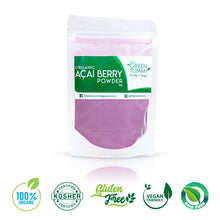 Load image into Gallery viewer, Organic Acai Berry Powder