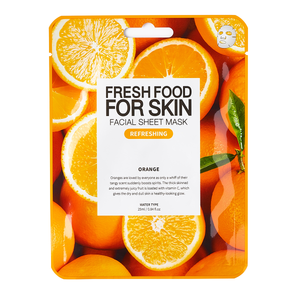 Fresh Food For Skin Facial Sheet Mask (Refreshing Orange)