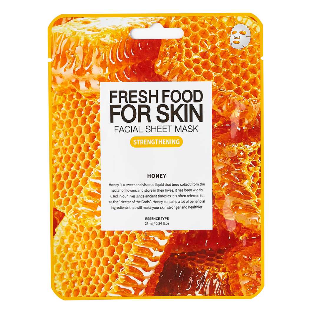 Fresh Food For Skin Facial Sheet Mask (Strengthening Honey)