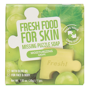 Freshfood For Skin Missing Puzzle Soap (Moisturizing Grape)