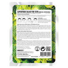 Load image into Gallery viewer, Superfood Salad Facial Sheet Mask (Refreshing Broccoli) Water Type Essence