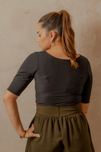 Tarragona Top with Belt