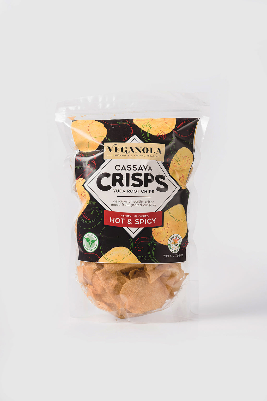Cassava Crisps - Hot and Spicy