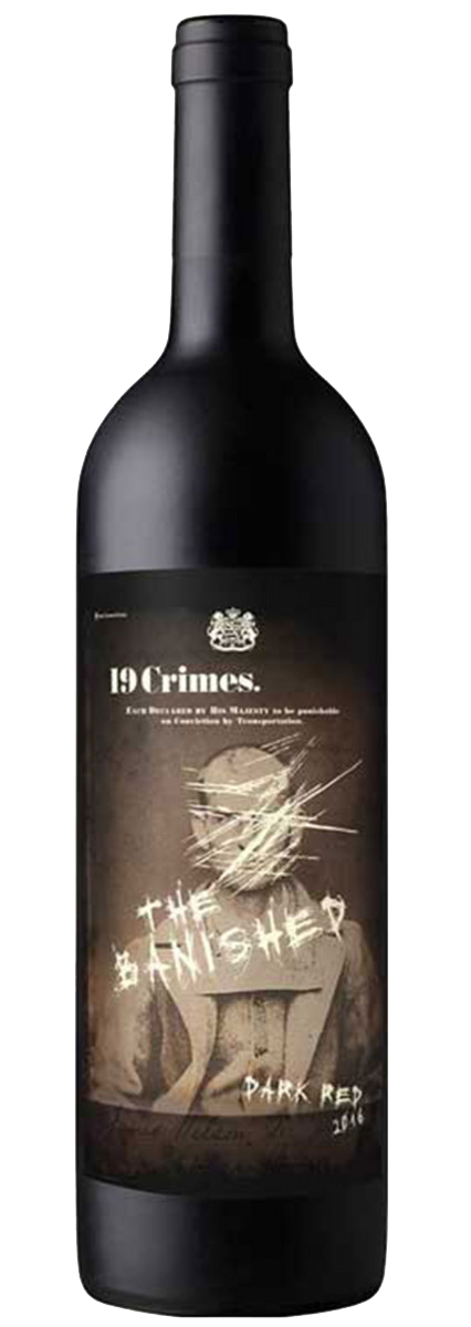 19 Crimes Dark Red - The Banished