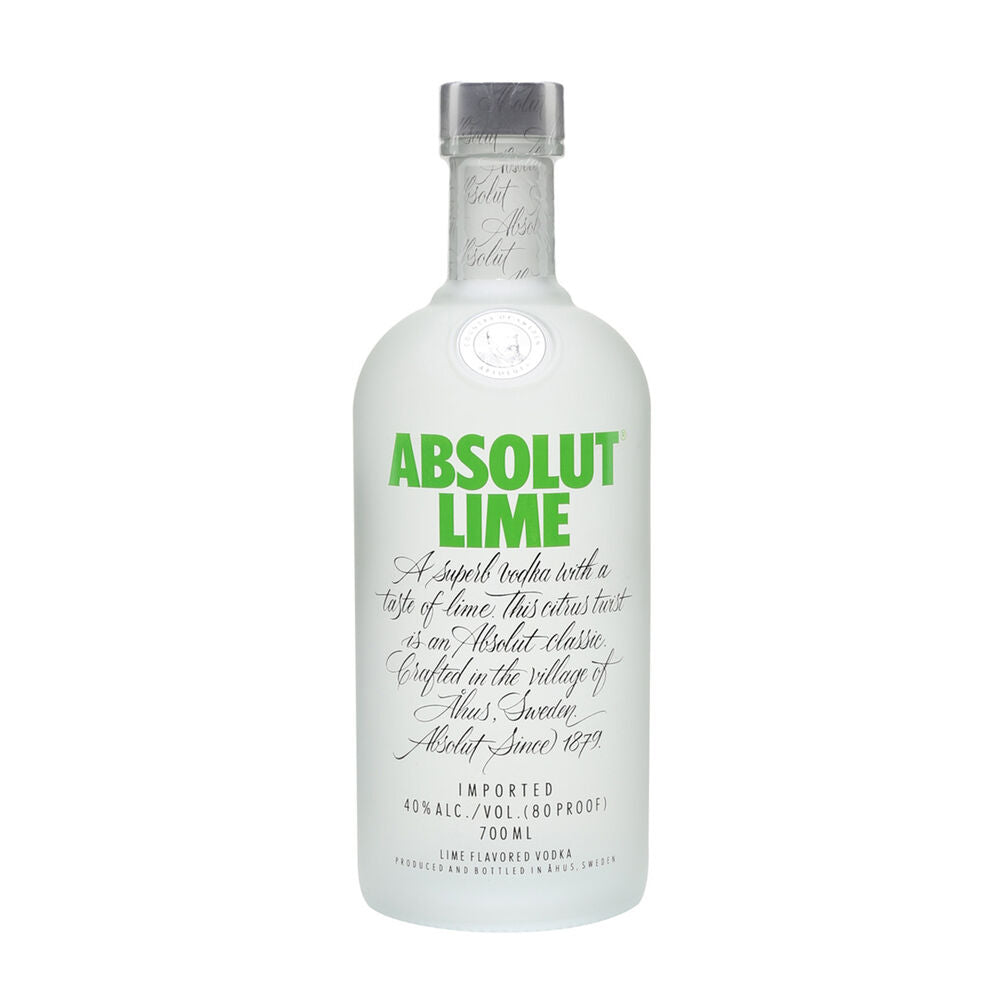 Absolut Lime Vodka 70cl              40%