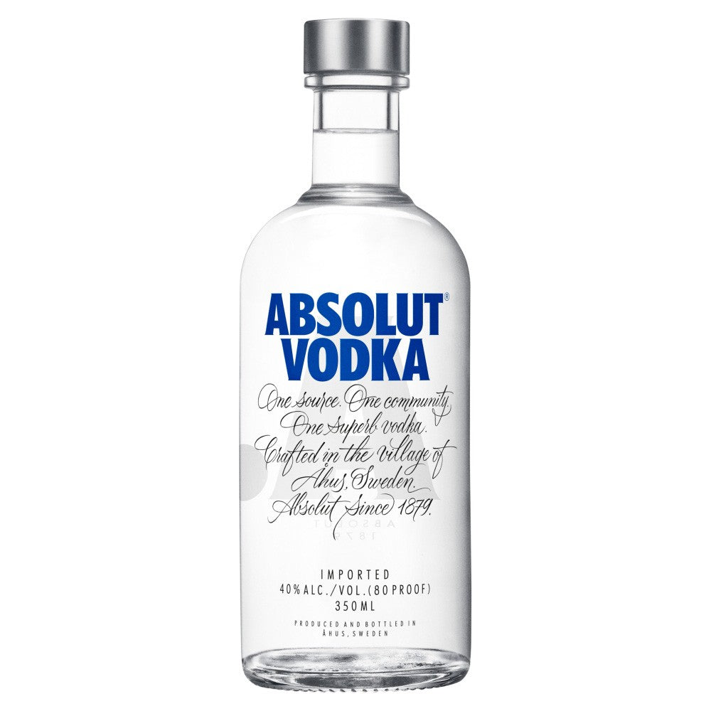 Absolut Vodka 35cl ½ Bottle          40%
