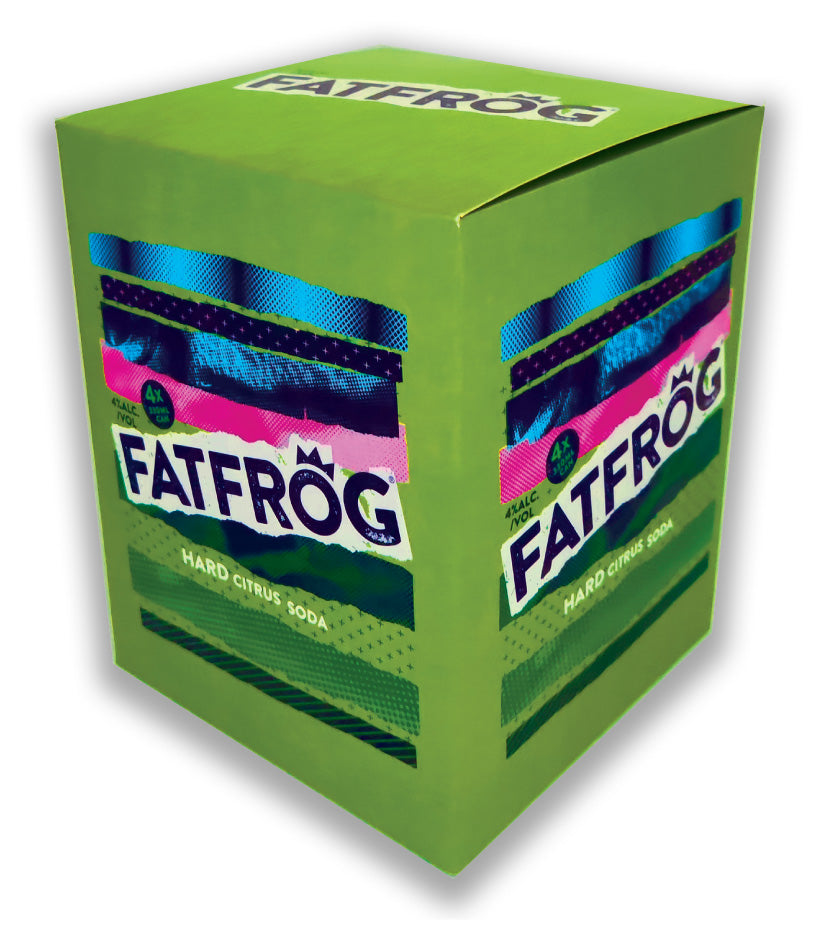Fat Frog 4 Pack 33cl Can