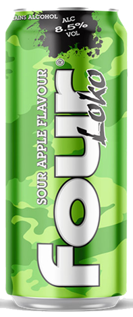 Four Loko Sour Apple 44cl