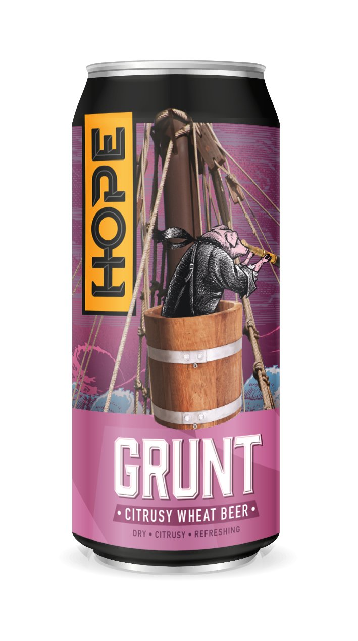 Hope Grunt Wheat Beer 44cl Can