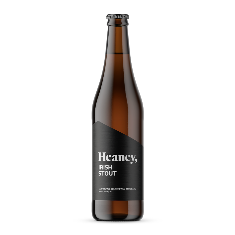 Heaney Irish Stout 50cl Bottle
