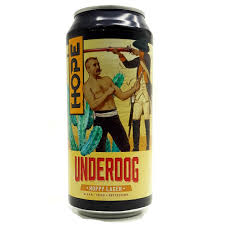 Hope Underdog Hoppy Lager 44cl Can  4.8%