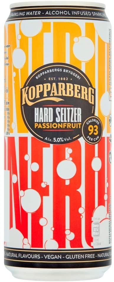 Kopparberg Passion Fruit Hard Seltzer 33cl Can