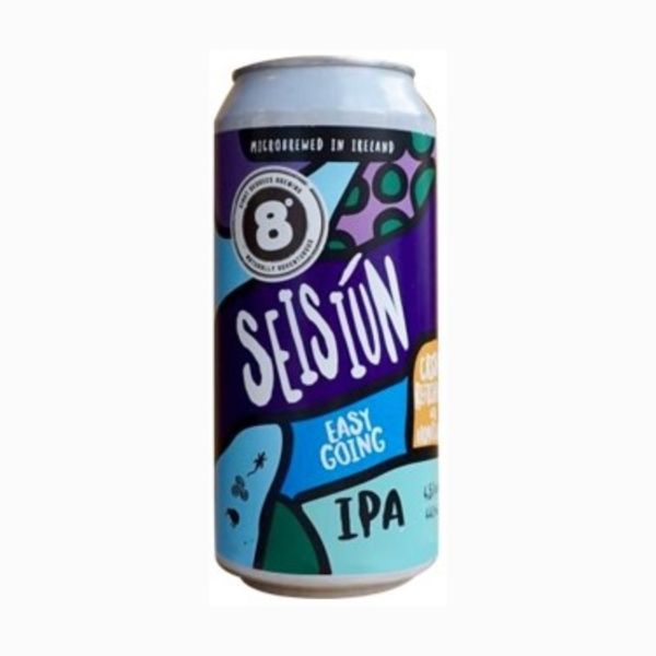 8 Degrees Seisiun IPA 44cl Can
