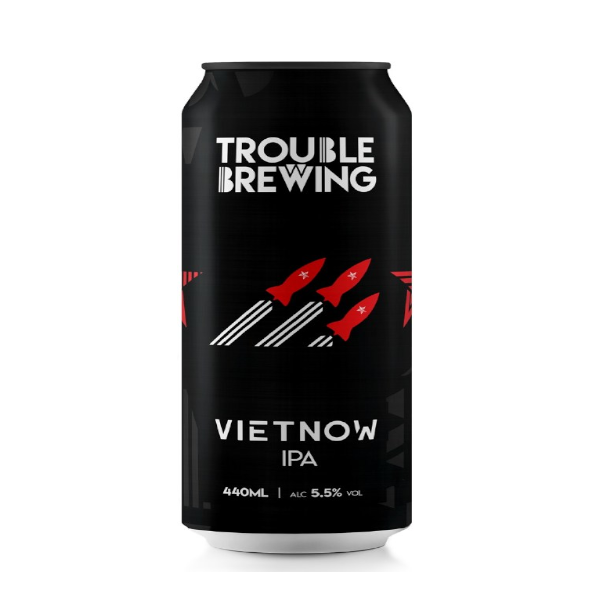 Trouble Brewing Vietnow IPA 44cl Can