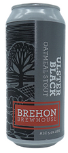 Brehon Brewhouse Ulster Black Stout 44cl Can