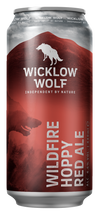 Wicklow Wolf Wildfire Hoppy Red Ale 44cl Can