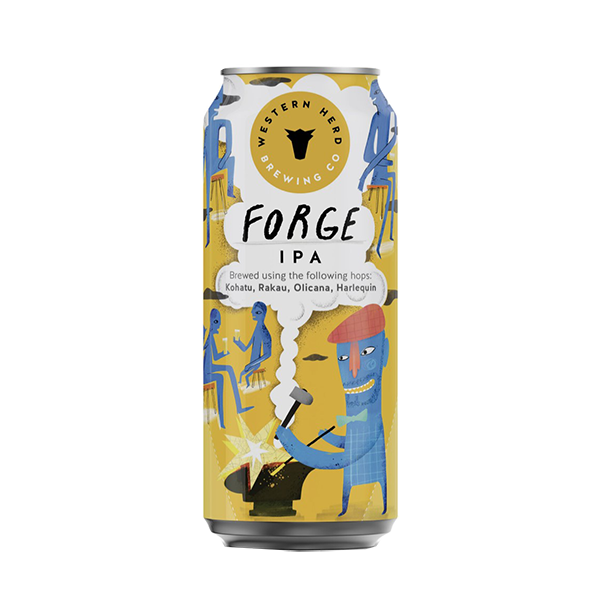 Western Herd Forge IPA 44cl Can