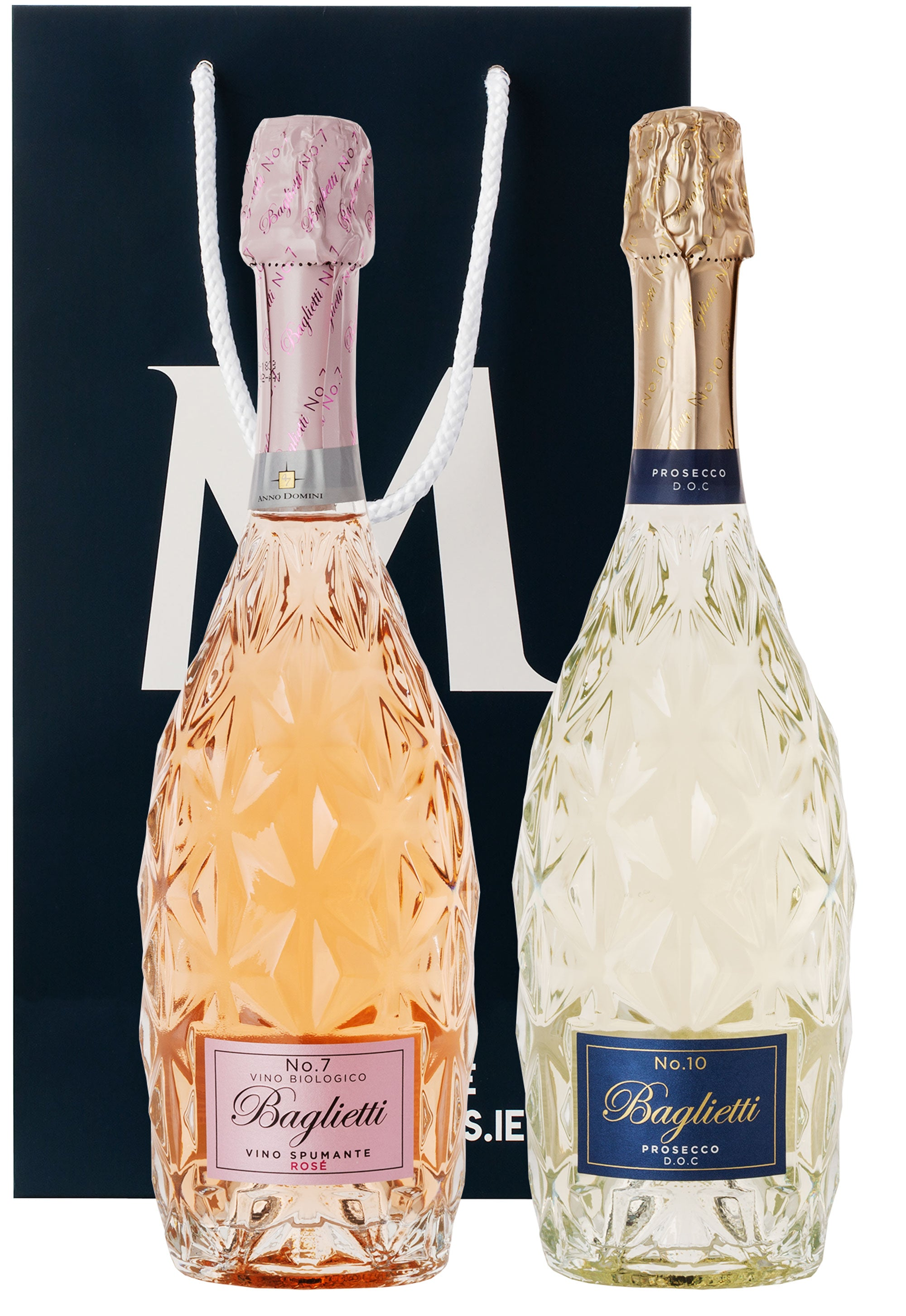 Baglietti Sparkling Couple in Gift Bag