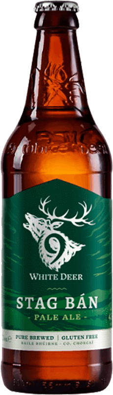 9 White Deer Stag Ban Pale Ale 50cl Bottle