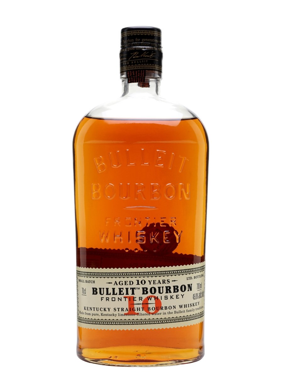 Bulleit Bourbon Whiskey 10 Year Old 70cl
