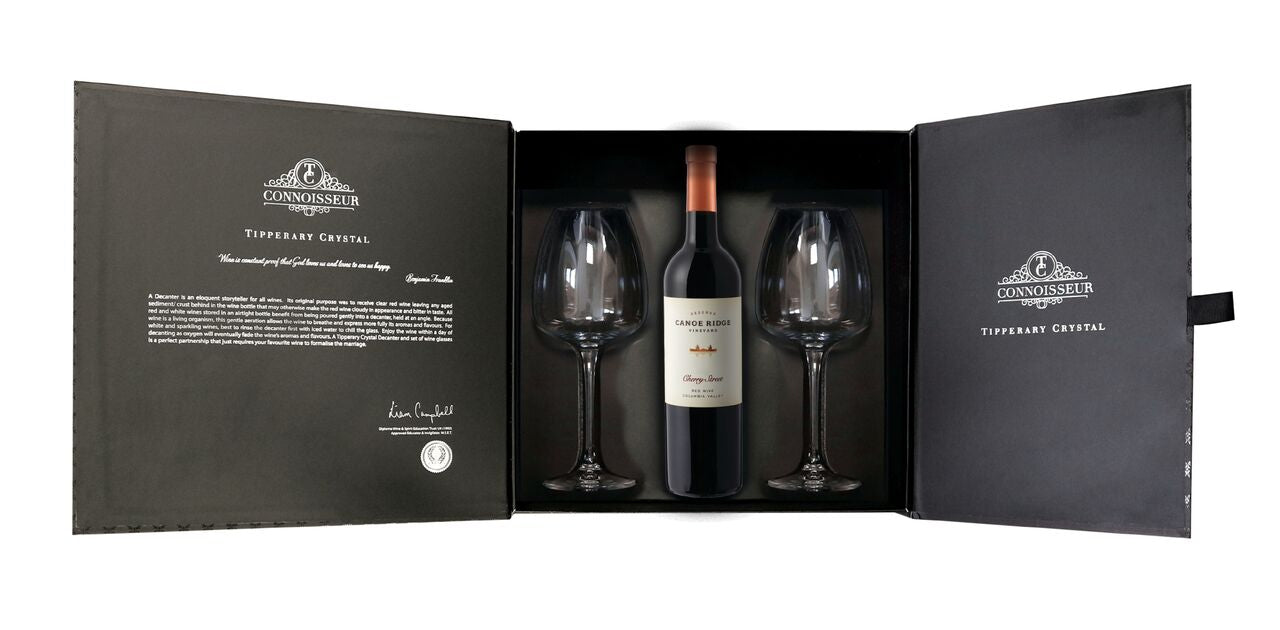 Tipperary Crystal Deluxe Red Wine Glass Pack
