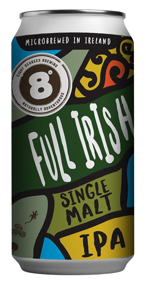 8 Degrees The Full Irish IPA 440ml
