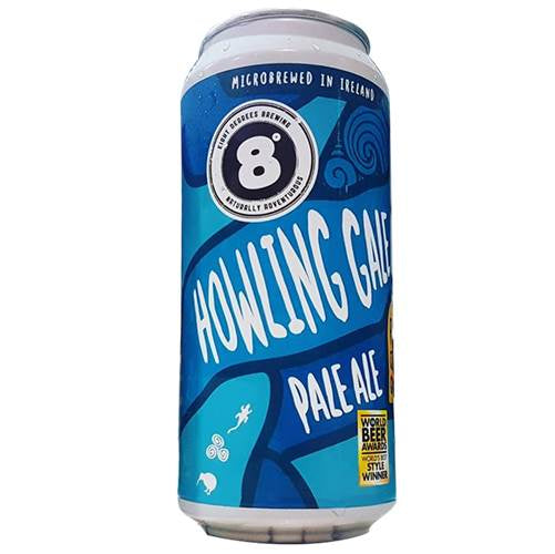 8 Degrees Howling Gale Pale Ale 44cl Can