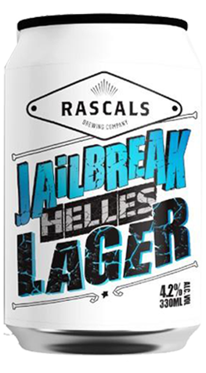 Rascals Jailbreak Helles Lager 33cl Can