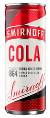 Smirnoff And Cola Ready to Drink 250Ml Can