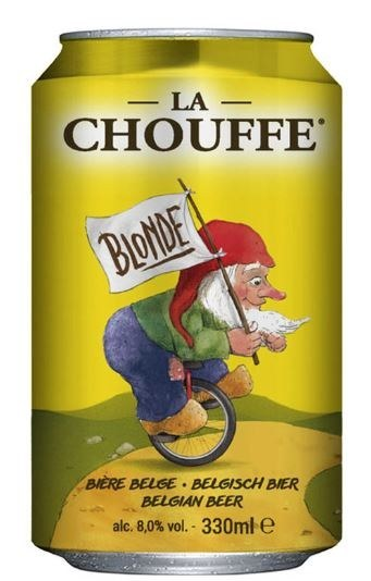 La Chouffe Blonde 33cl Can