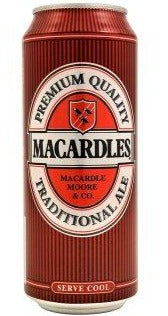 Macardles Ale 50cl Can	4%ABV