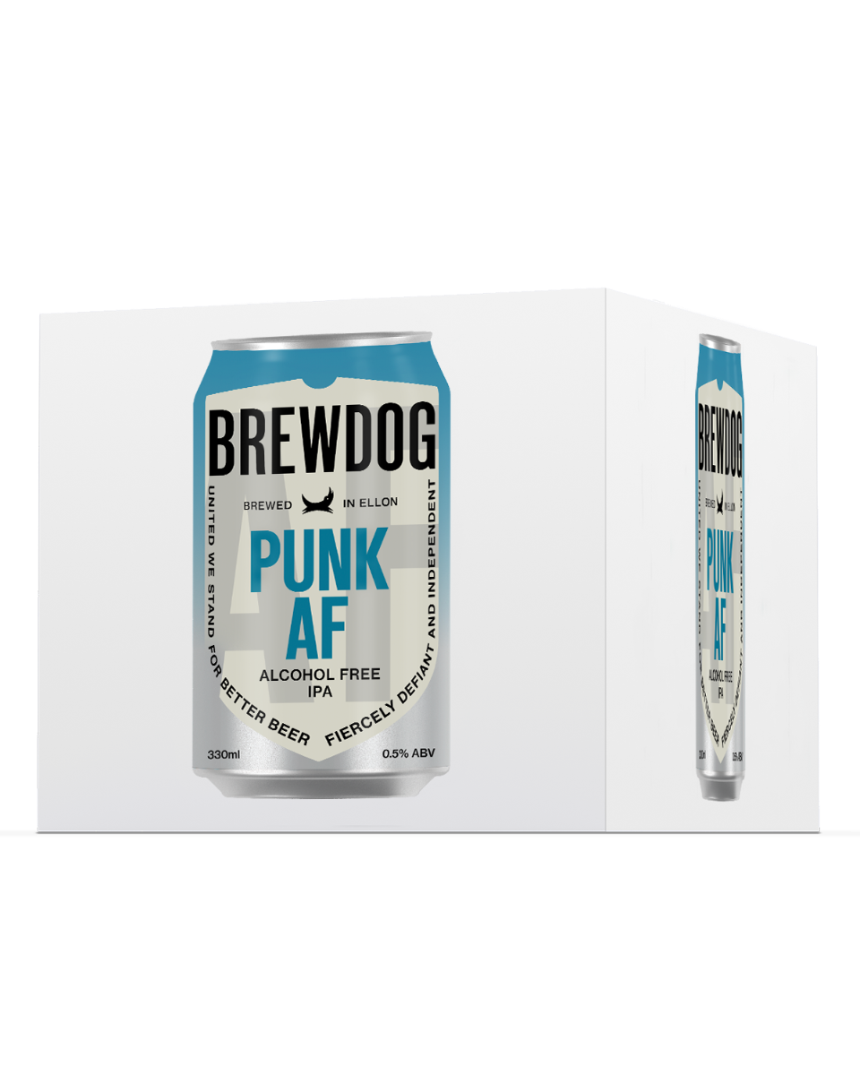 Brewdog PUNK AF- Alcohol Free 4 pack 33cl Can