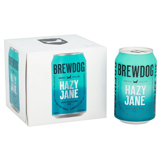 Brewdog Hazy Jane 4 pack 33cl Cans