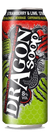 Dragon Soop Strawberry and Lime 500ml ABV 8%