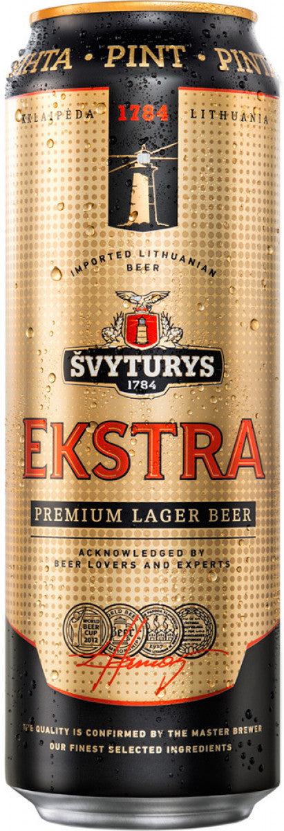 Svyturys Ekstra Beer 568ml Can 5.2%