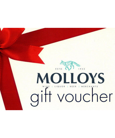 Molloys Liquor Store Gift Voucher - Online Use Only