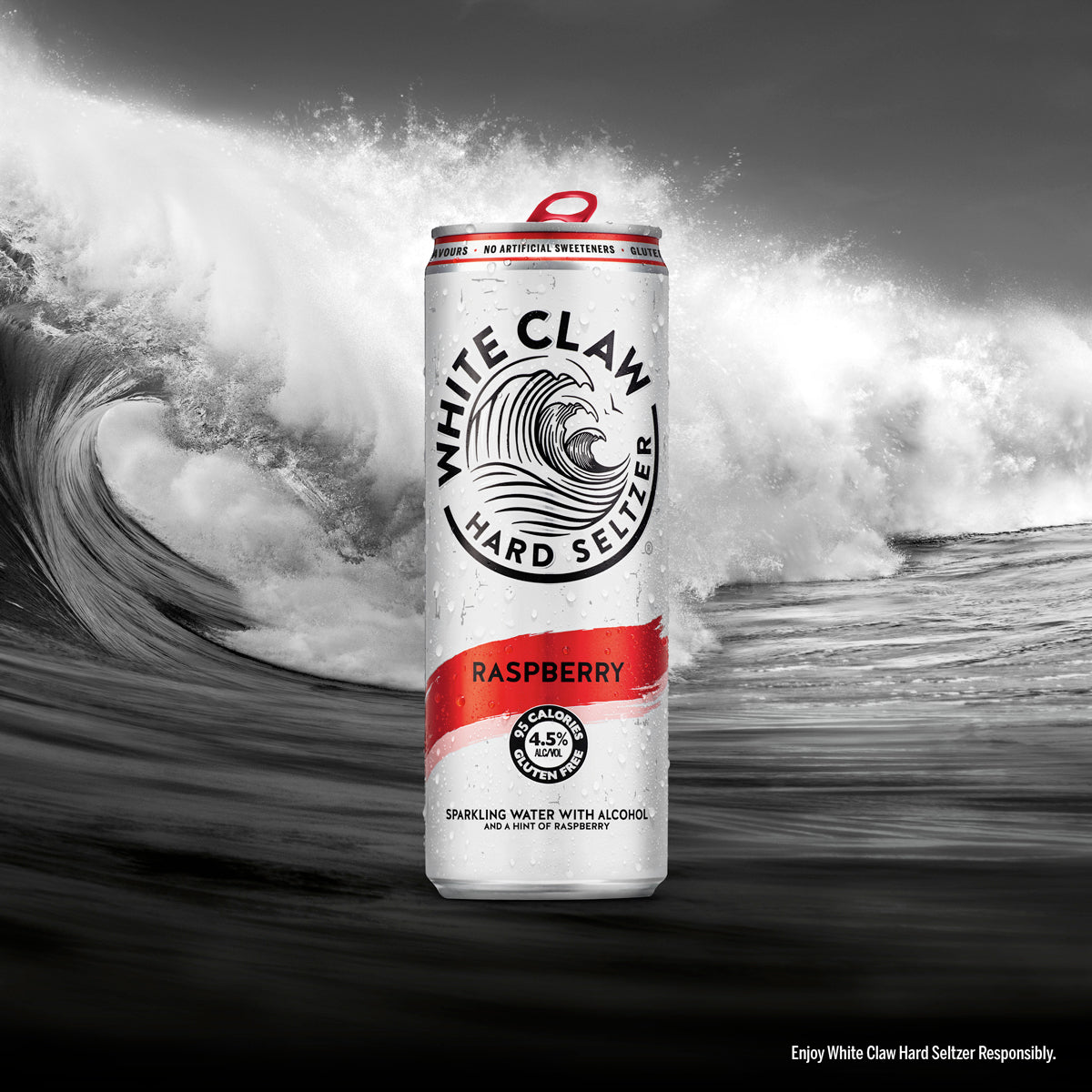 White Claw Raspberry Hard Seltzer