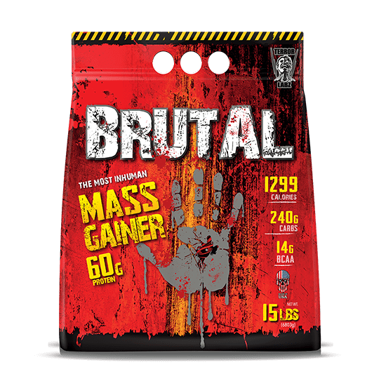 BRUTAL Mass Gainer - Best Mass Gainer Protein Powder Online