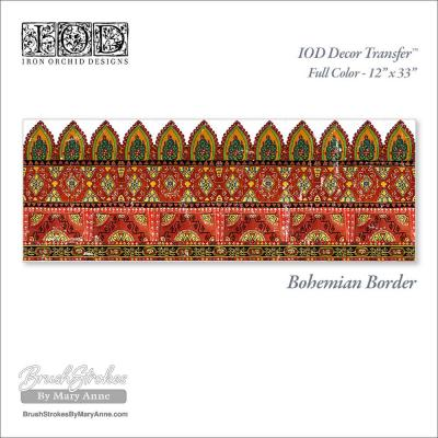 Transfer Bohemian Border RETIRED