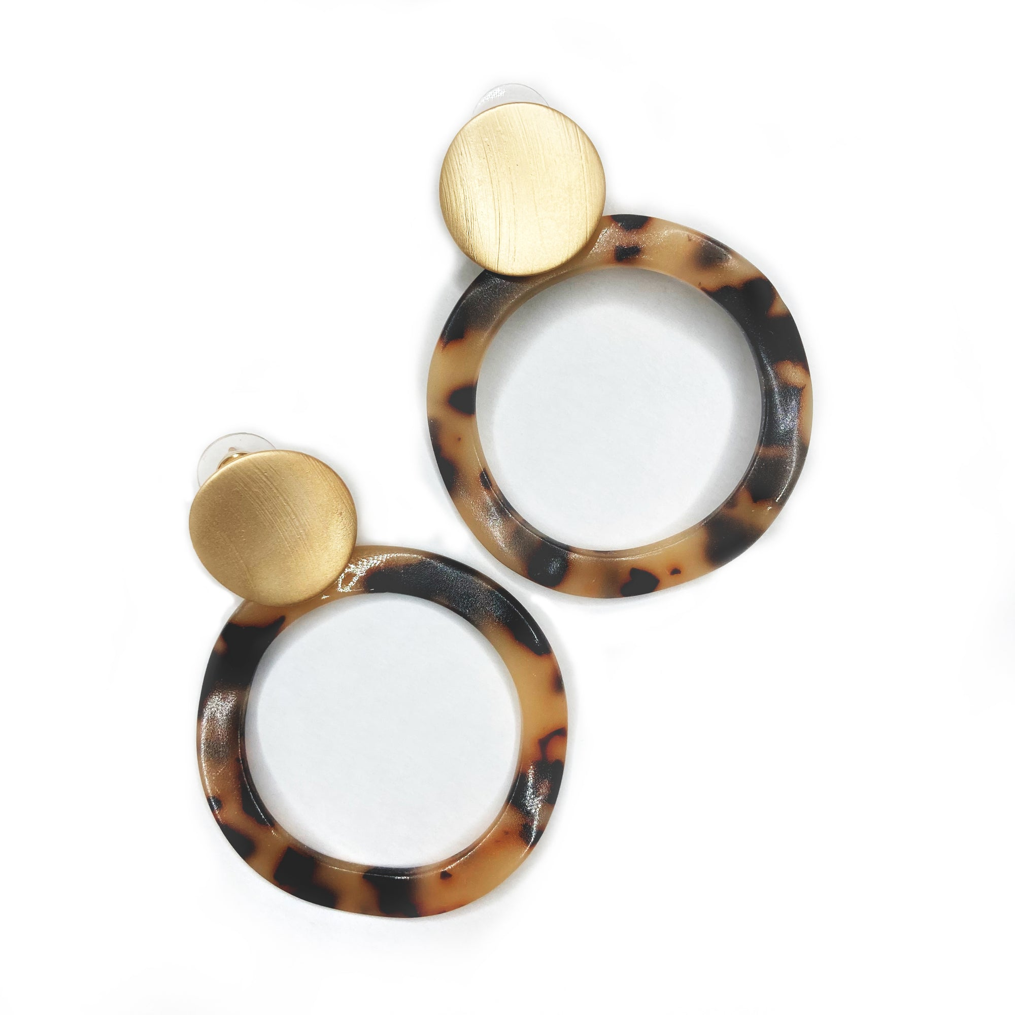 Buy beautiful Leopard Circle of Waves Earrings - AWKN Jewelry's